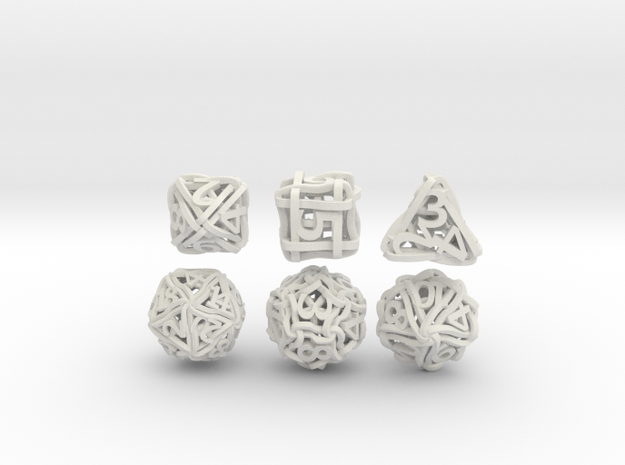 Loops Dice 3d printed