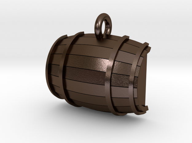 Keg / Barrel Pet Tag 3d printed
