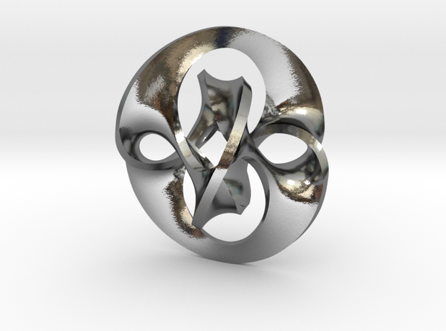 Antichron Pendant for Precious Metals 3d printed