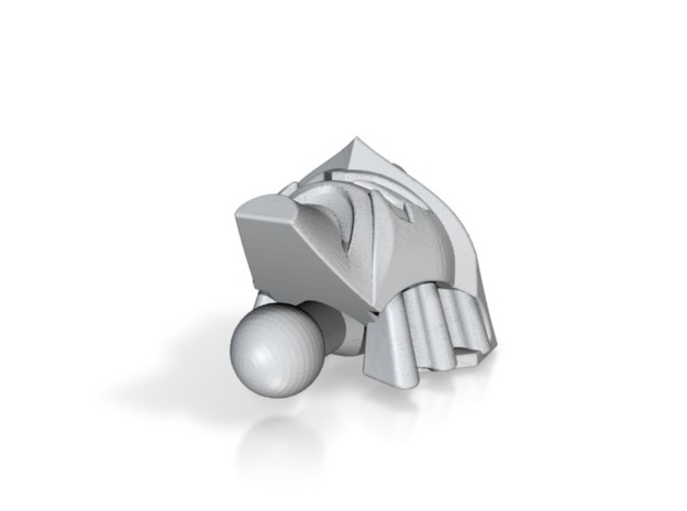 Depthcharge head for Animated starscream 3d printed