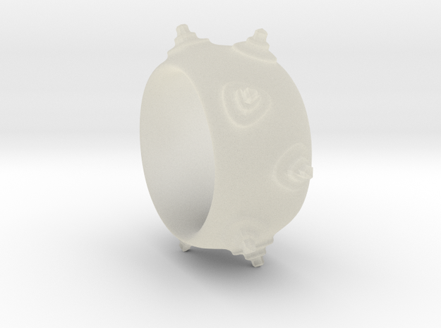 Mines ring 3d printed