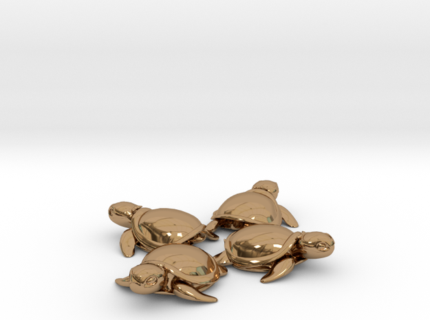 TMNT Little Turtles (4 pieces bundle) 3d printed