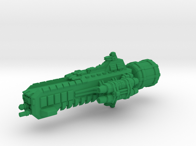 Jovian Lanze class Strike Carrier 3d printed