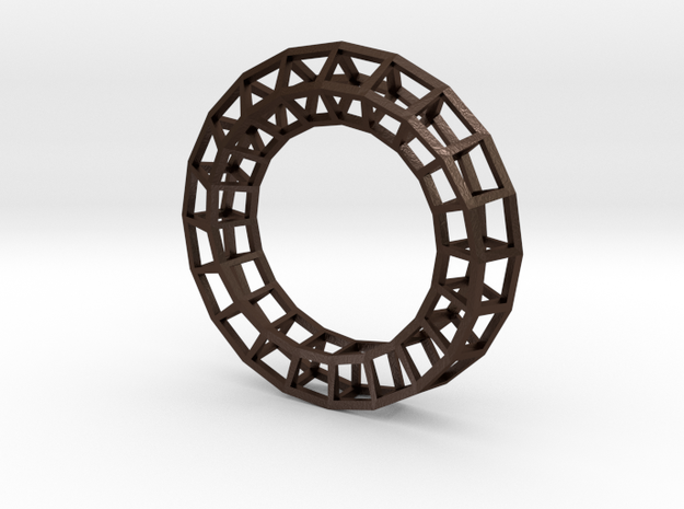 Roller coaster napkin ring 5 3d printed