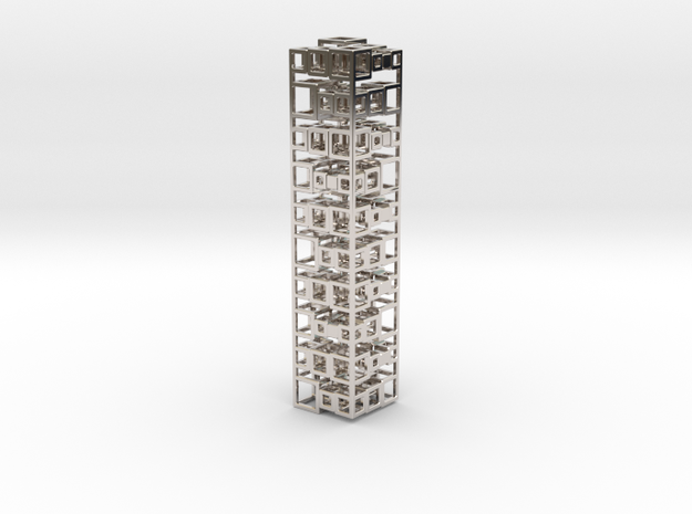 Stack Of 10 Cubes 21 3d printed