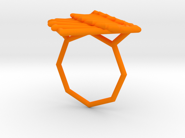 Arithmetic Ring (Size 8) 3d printed