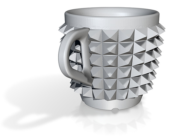 one cup a day | Day 02: Studded Belt Cup 3d printed