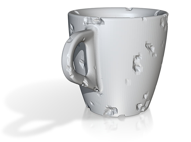 one cup a day | Day 03: Eroded Cup 3d printed