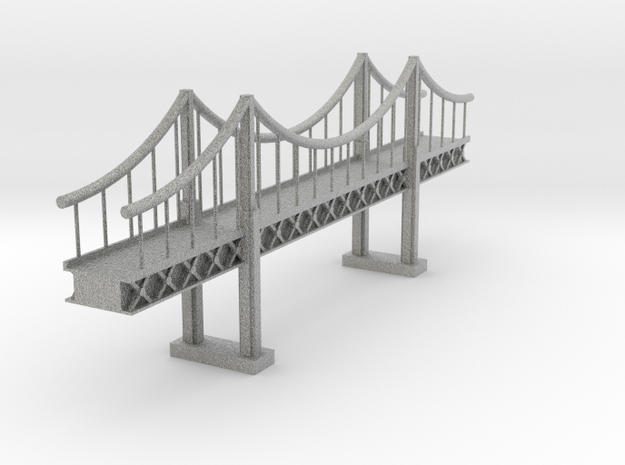 Suspension Bridge 1 3d printed
