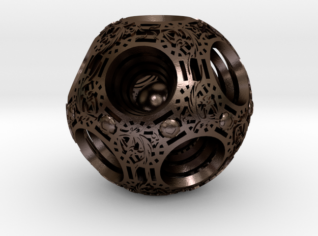 Chinese sphere 3d printed