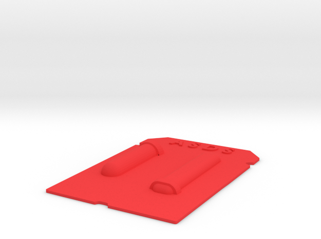 Lid for Drive Base 3d printed