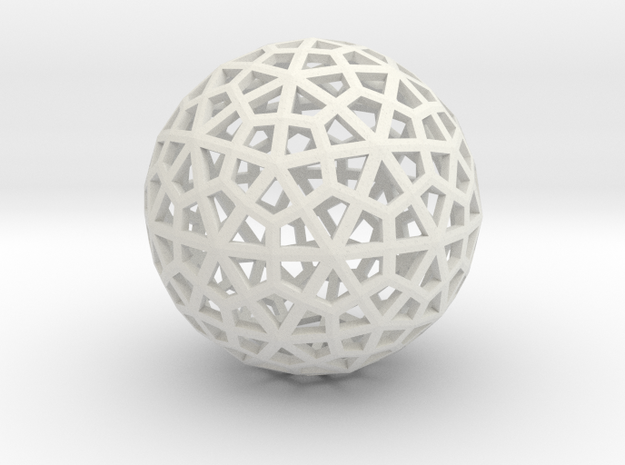 Snowflakes Sixties Series 1 3d printed