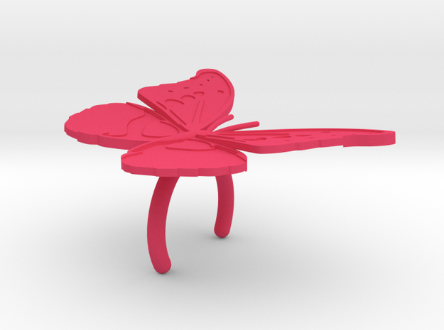 Butterfly Light Shade #5 3d printed