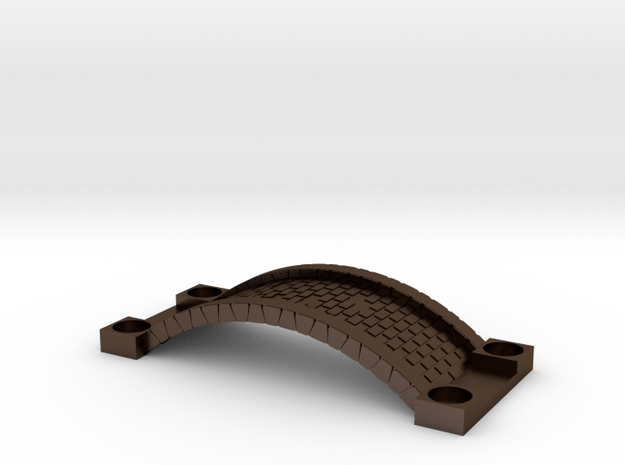Cobble Stone Tea Candle Holder 3d printed