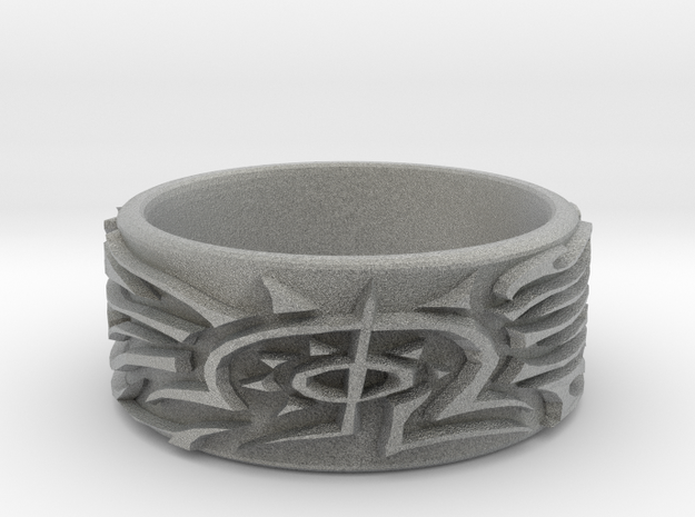 Eldritch Ring - Ring Size US 10 3d printed