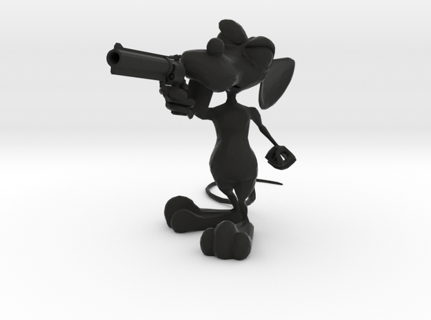 Dirty Rat -Gun Small v4 3d printed
