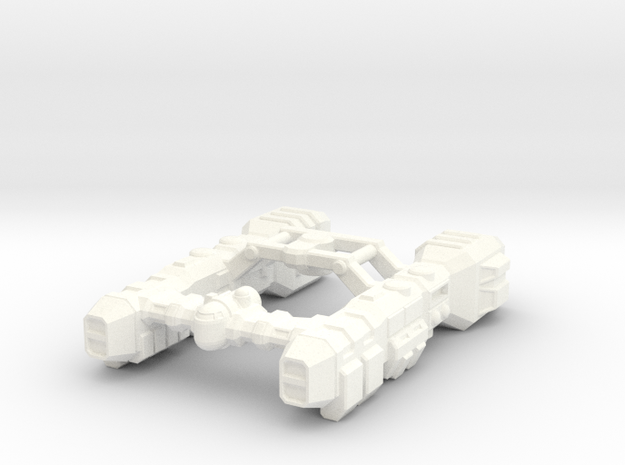 Salvage Cruiser 3d printed