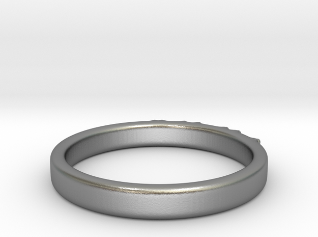 Braille ring 3mm 3d printed