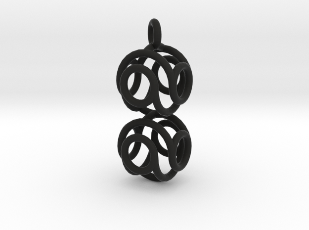 Marble Pendant v3 3d printed