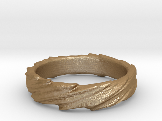 Ring - Organic Twist 3d printed