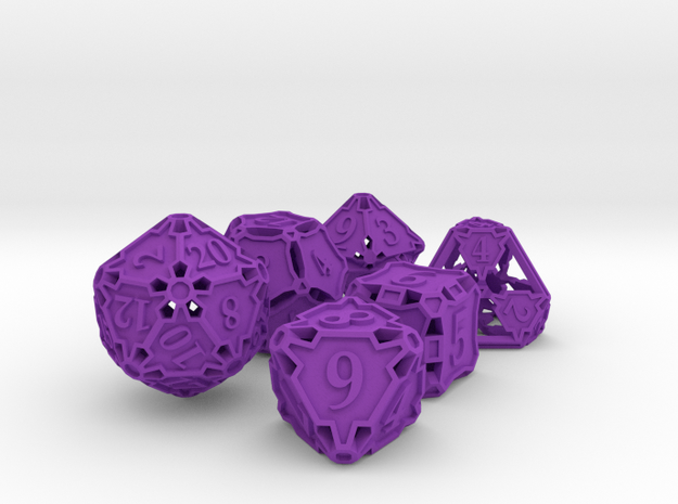 Large Dice Set 3d printed