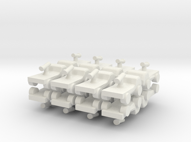 8 Armed Pickup Technical x16 3d printed