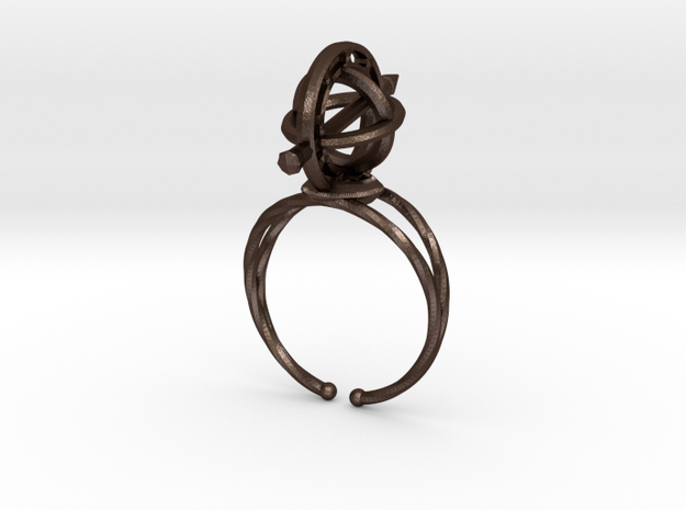Armillary Ring 3d printed
