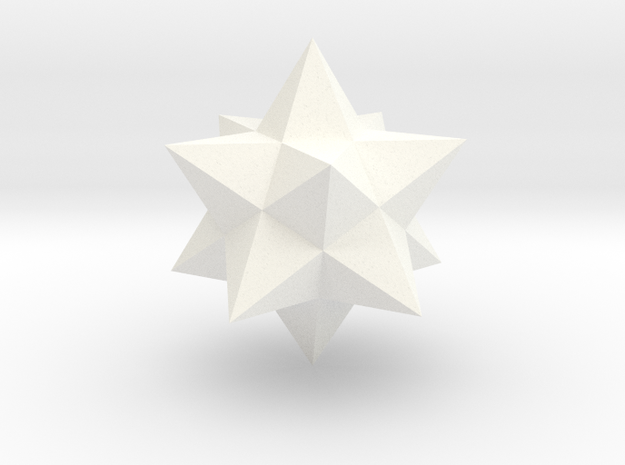 Small stellated dodecahedron (small) 3d printed