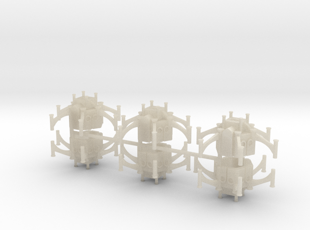Gothic Shrine x6 3d printed