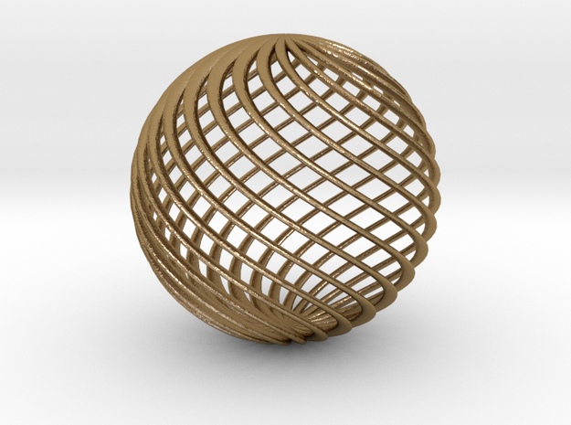 Twisted Ball 3d printed