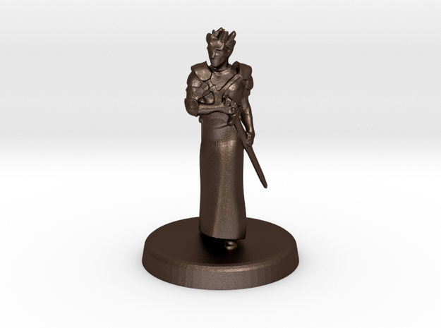 Fugue (Genasi swordmage) 3d printed