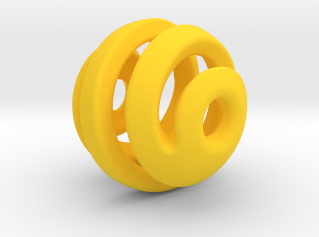 sphere spiral 16mm 3d printed