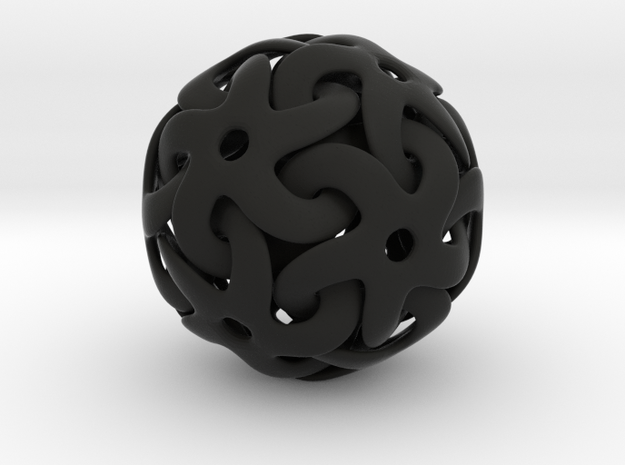 Starball Pendant 3d printed