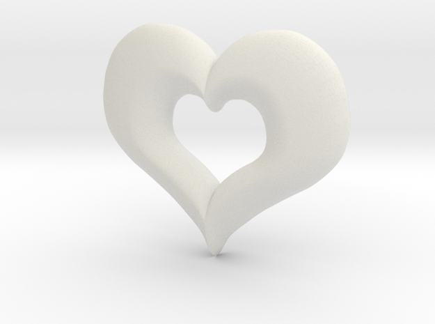 Valentines Day Heart 3d printed