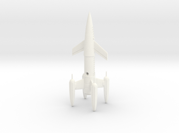 "R-Rocket ""Earth"" Class Medium 3d printed"