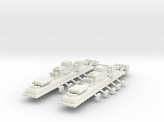 9 Air Frigate x2 3d printed