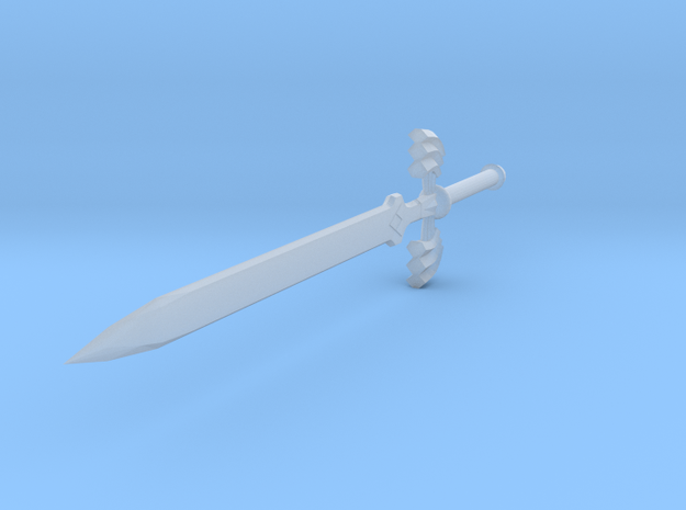Mastersword Miniature 3d printed