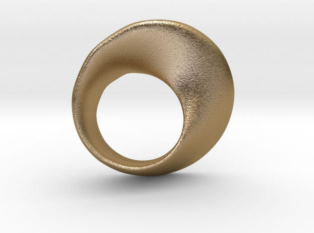 Möbius ring 3d printed