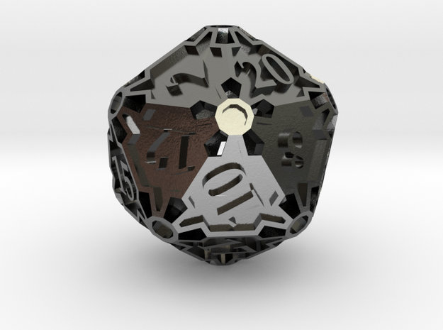 Large Die20 3d printed