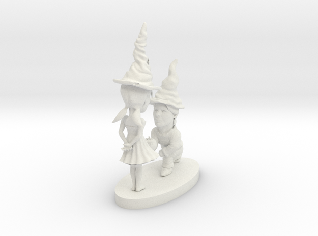 hollow gnomes 3d printed