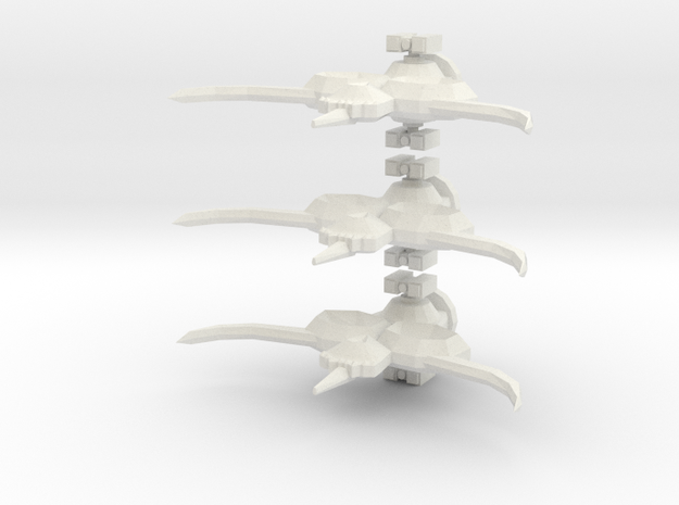 Aotrs101A Spectral Glow Defense Corvette (x3) 3d printed