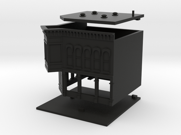 Old Tyme Store - Zscale 3d printed