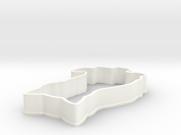 Cat Cookie Cutter 3d printed