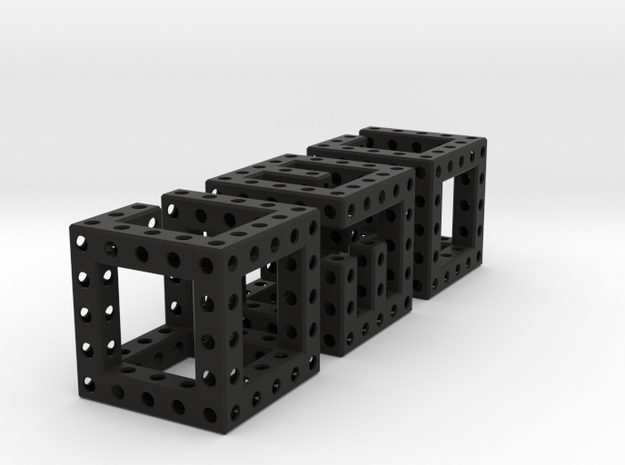 Little Maze N-Cube 3d printed