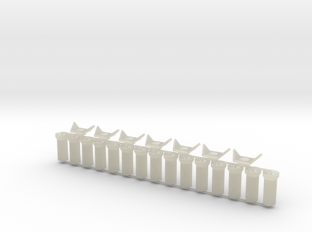 Concrete Pipes - 3x10 feet - Zscale 3d printed