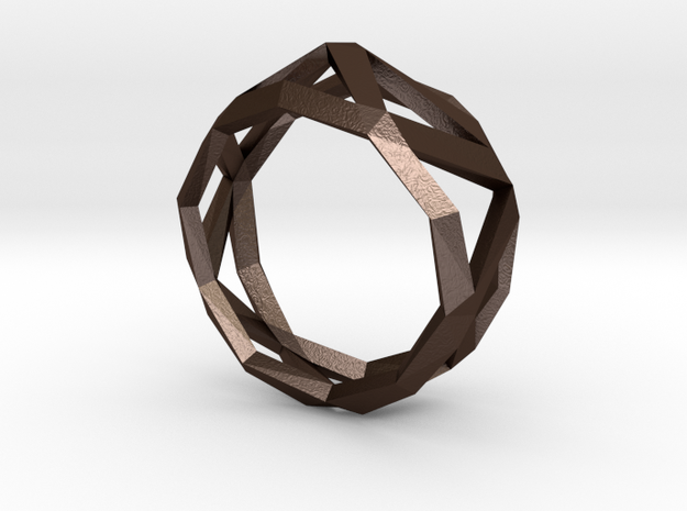 Comion ring medium 3d printed