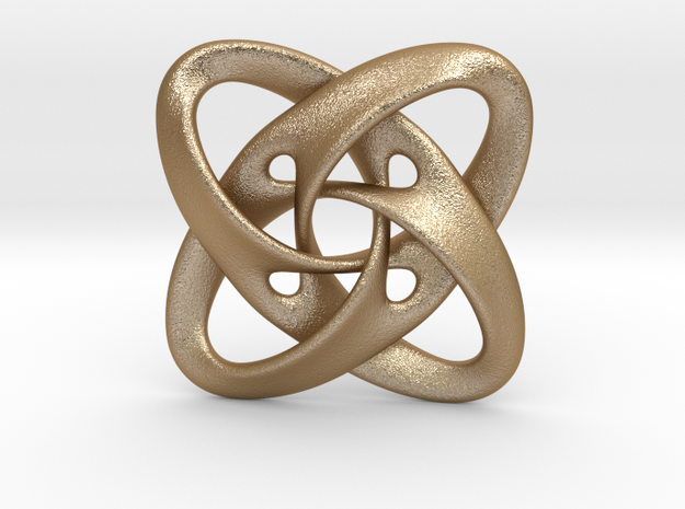 Sphere eversion (pendant) 3d printed