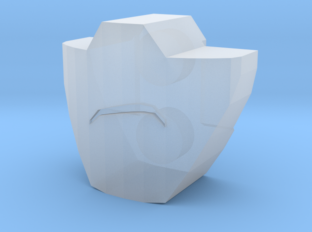 PRID Rumble / Frenzy Mouthplate - Frowning 3d printed