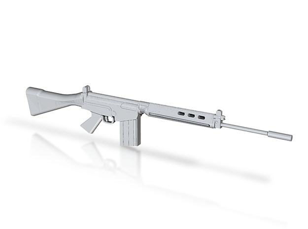 FN FAL draft2 3d printed