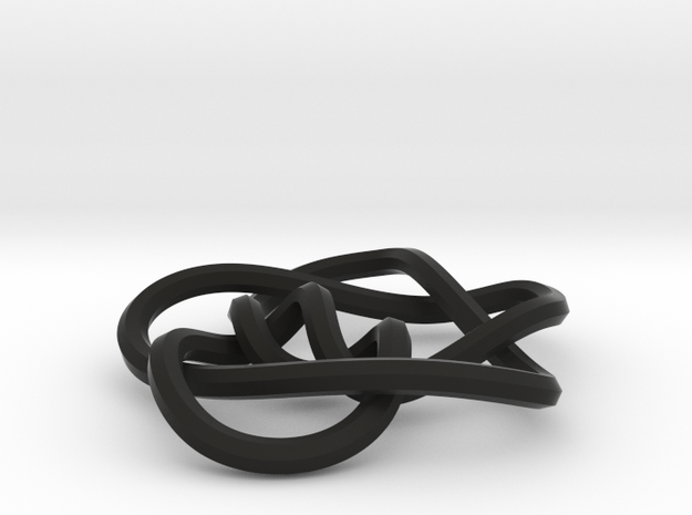 small 8-5 mobius knot 3d printed